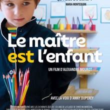 L\'affiche du film \'Le maître est l\'enfant\'.