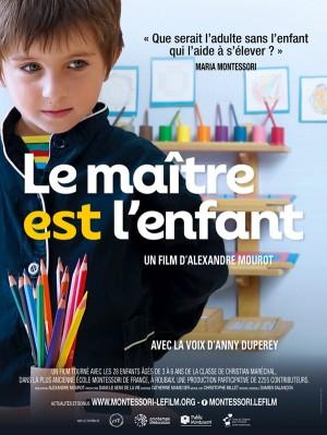 L'affiche du film 'Le maître est l'enfant'.
