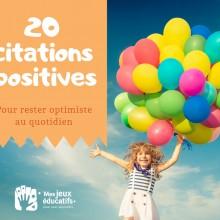 20 citations sur l\'optimisme