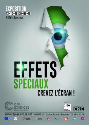 Affiche Cap Sciences Bordeaux
