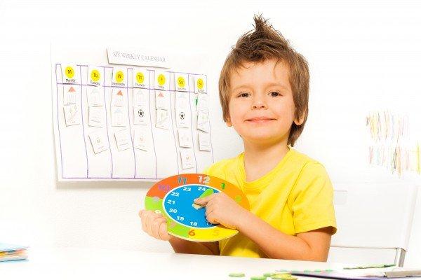 La routine et les règles bien établies rassurent l'enfant