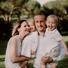 Une famille fraçaise expatriée à Madris en Espagne.