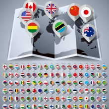 Les écoles Montessori dans le monde - infographie