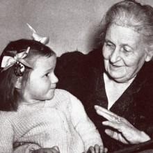 Maria Montessori - une vie consacrée aux enfants