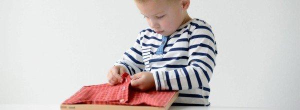Le matériel spécifique est la base de la pédagogie Montessori